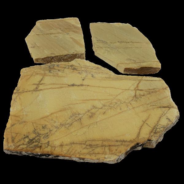 Polygonalplatten - Quarzit Triana Gelb