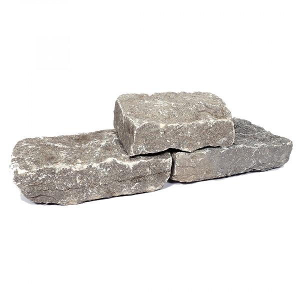 Muschelkalk Mauerstein 8-15/15-25/30-50 cm, maschinengespalten