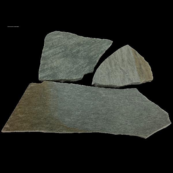 Polygonalplatten - Quarzit Karystos Grün