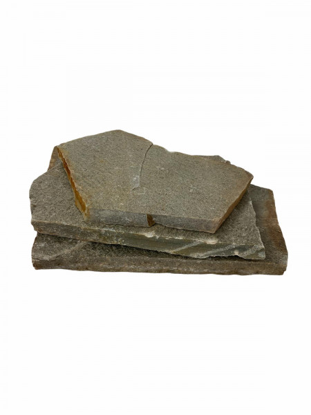 Polygonalplatten – Quarzit Rio Grün