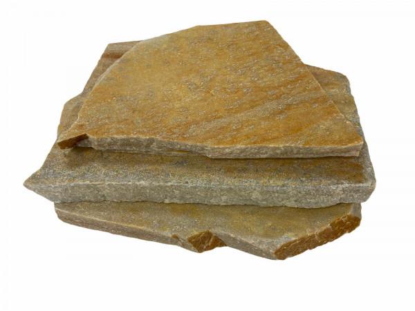 Polygonalplatten – Quarzit Rio Gelb