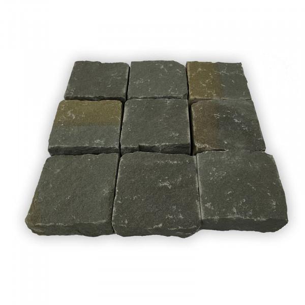 Pflastersteine Sandstein - Antik Anthrazit