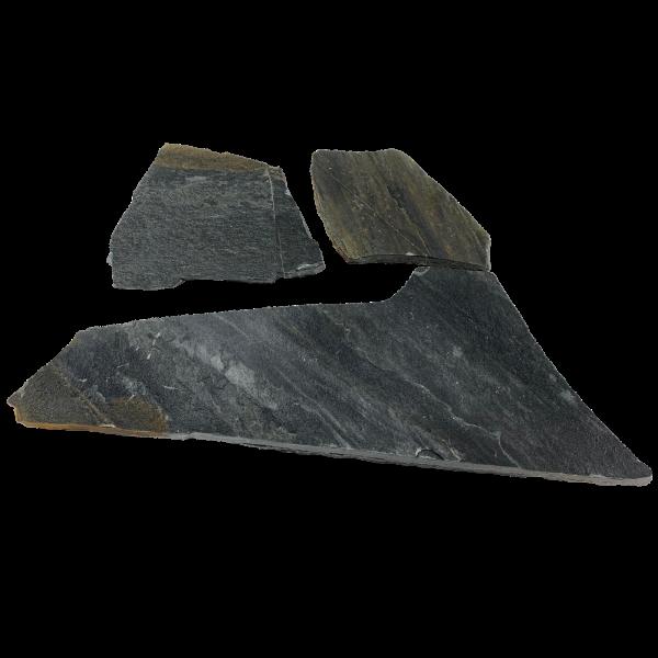 Terassenplatten Polygonalplatte - Quarzit Pilio Blau