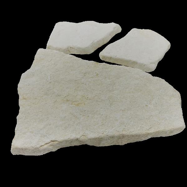 Terrassenplatten Polygonalplatte - Italia Weiß