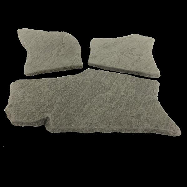 Terrassenplatten Polygonalplatte - Antik Grau