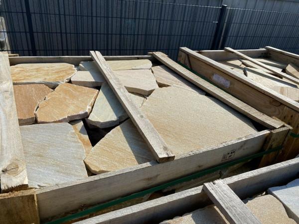 Terrassenplatten Polygonalplatte – Rio Gelb
