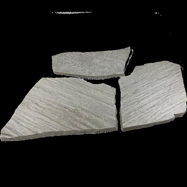 Terrassenplatten Polygonalplatte – Rio Weiß