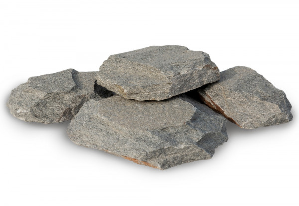 Rock Face Bruchstein Natursteinverlender - Grau Kavalas