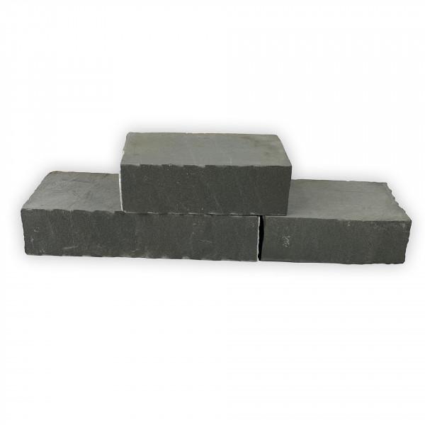 Mauersteine - Sandstein Anthrazit FL x 20 x10 cm